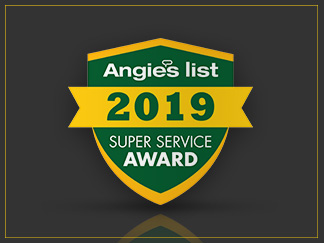 Angie's List Super Service Award 2019 for Sir Grout NE Florida